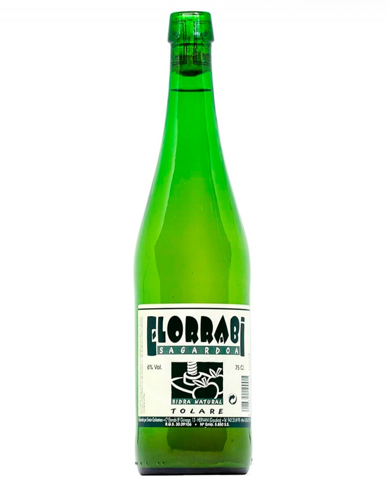 Acheter Cidre Naturel Elorrabi