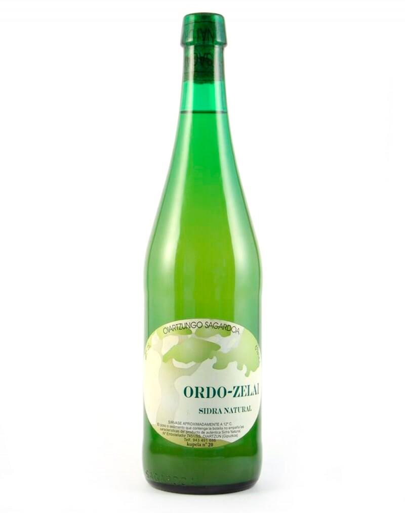 Acheter Cidre Naturel Ordo-Zelai