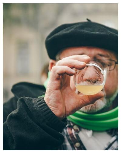 07/12/2019 13h00. Degustation gourmande de cidre naturel basque et produits locaux