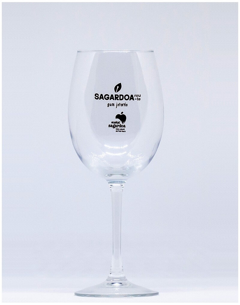 Cider wineglasses