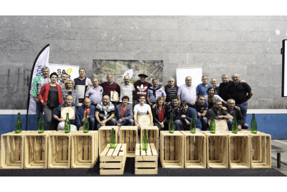 GAZTAÑAGA CIDER HOUSE WINS THE IV BASQUE COUNTRY POPULAR CIDER CHAMPIONSHIP