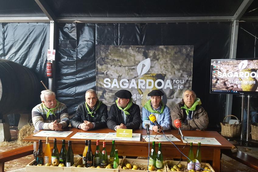 SAGARDOA ROUTE y SIDRA COSECHA 2017