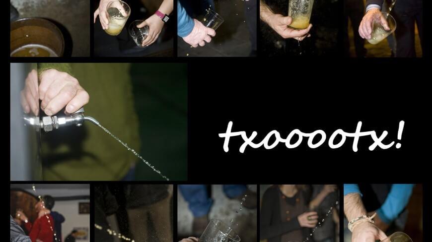 Apertura de Txotx en Astigarraga