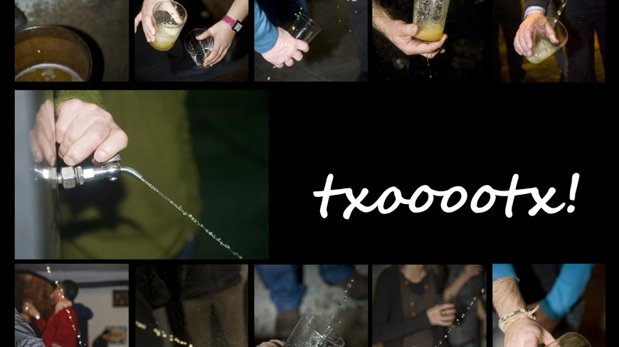Apertura de Txotx en Saizar Sagardotegia - Usurbil