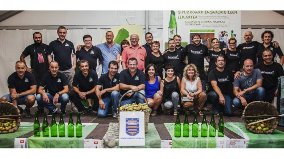 Campeonato Popular de Sidras del País Vasco - Demifinal à Zornotza