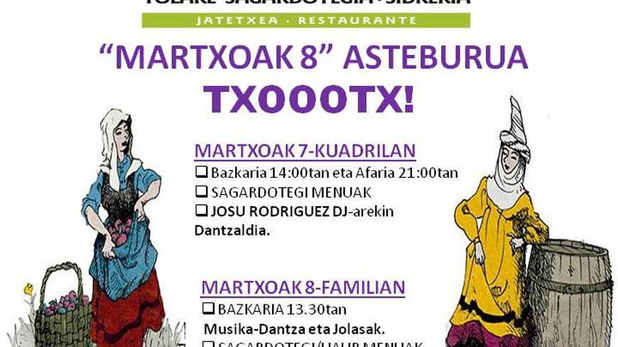 MARTXOAK 8 ASTEBURUA - AÑOTA